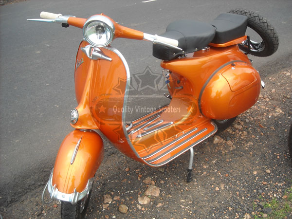 Italian Vespa Orange image
