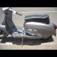 Lambretta GP 200 Grey